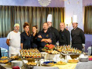 Team Utopia: ristorante di pesce in provincia di Padova. Oggi il ristorante consegna domicilio piatti di pesce raffinati.
