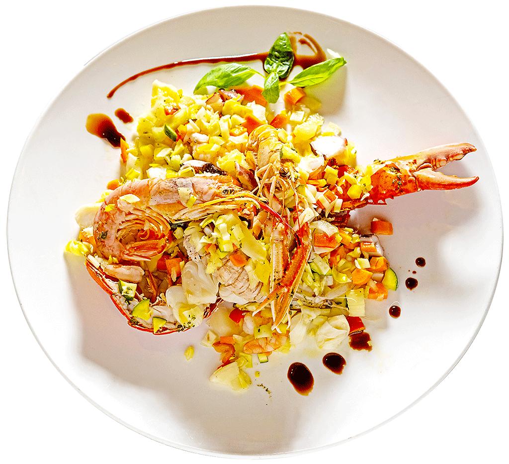 Ristorante Utopia specialità di pesce: il ristorante consegna a domicilio a Padova raffinati piatti di pesce